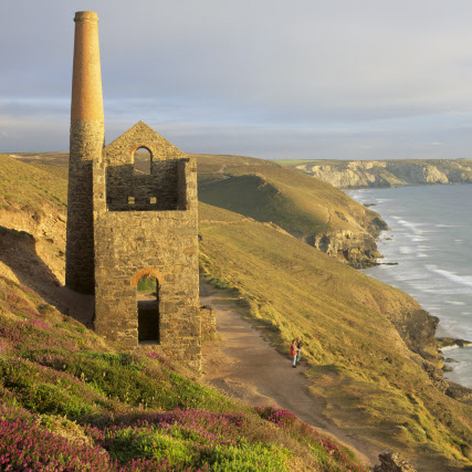 Towanroath Shaft, Engine House at Wheal Coates, Chapel Porth
