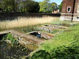 Remains of the kitchens, Tattershall Castle © National Trust