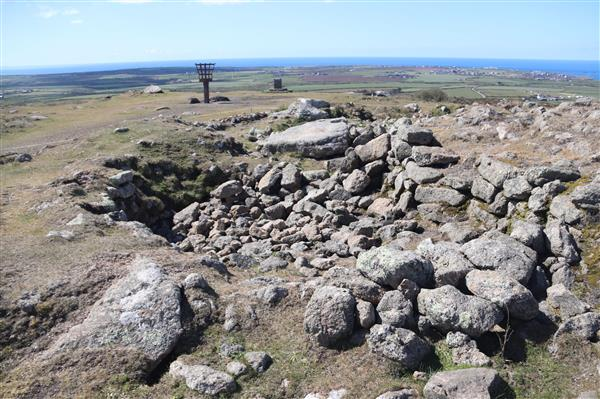 Chapel Carn Brea, Chapel and Beacon site on the cairn, St Just Sites © National Trust